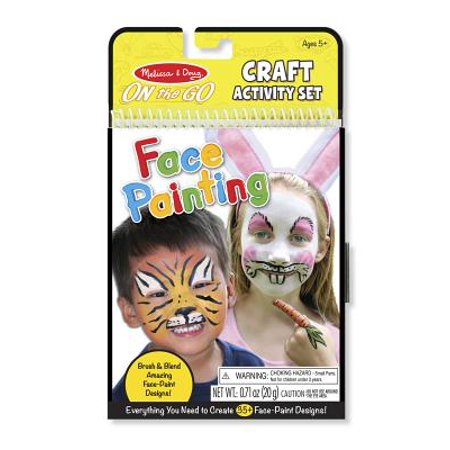 Melissa & Doug On the Go Face Painting Craft Activity Set - 35+ Designs](Face Painting Ideas For Kids)