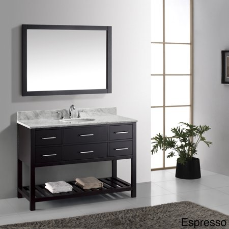 Virtu usa caroline estate 48 inch single sink bathroom Virtu usa caroline 36 inch single sink bathroom vanity set