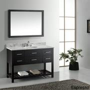 VIRTU USA  Caroline Estate 48-Inch Single Sink Bathroom Vanity Set