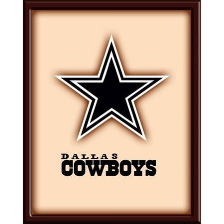 Nfl Wooden Wall Art Picture Dallas Cowboys Poster New