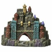 """Exotic Environments Rock Ledge Castle Ornament - 8""""L x 3.25""""W x 6.5""""H"""