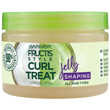 Garnier Fructis Style Curl Treat Jelly Shaping Leave-in Styler to Shape Curls, 10.5 oz. ()