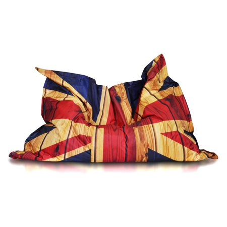 Turbo Beanbags Pillow Large Bean Bag Chair Flag