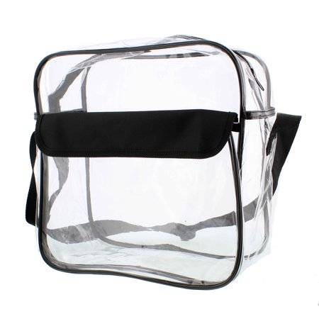 "Billingham Hadley Shoulder Bag - RC Clear Purse 12"" x 12"" x 6"" NFL Stadium Approved Bag with Shoulder Strap"