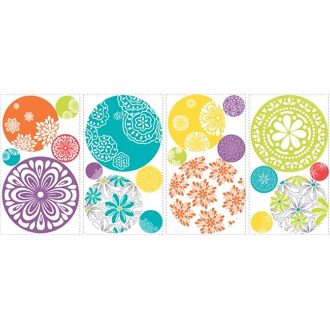 Roommate RMK1707SCS Patterned Dots Wall Decals