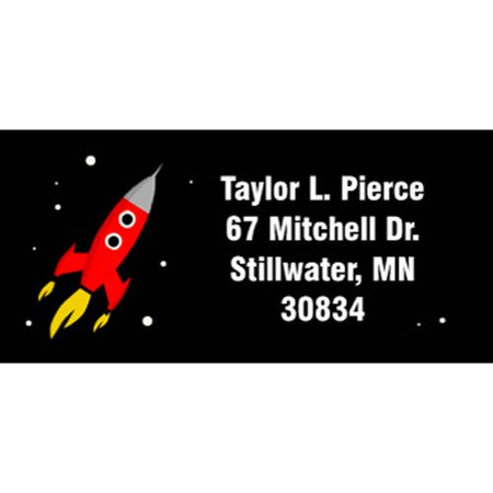 Space Hero Personalized Address Label](Personalized Labels)