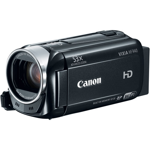 Canon VIXIA HF R40 HD Image Stabilized Optical Zoom Camcorder