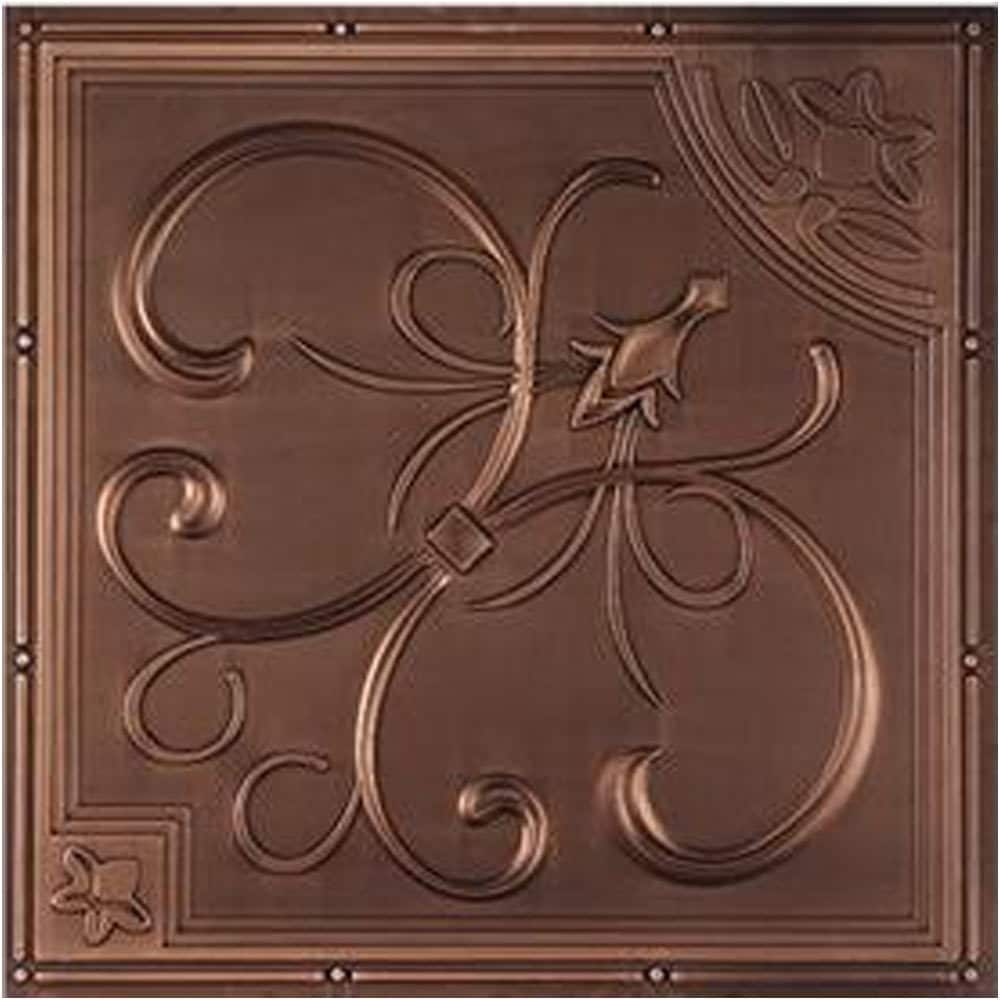 uDecor  French Quarter Ceiling Tile (10 tiles)