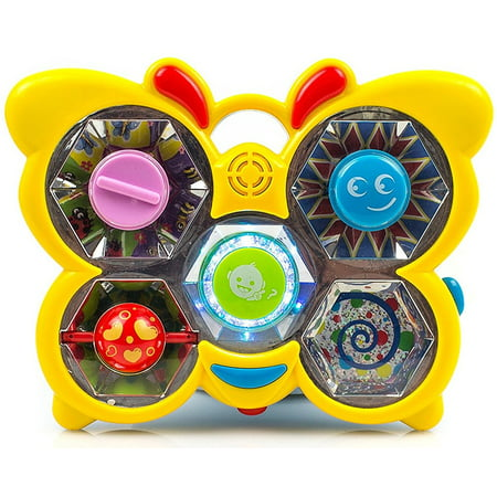 Toysery Dancing Butterfly Musical Toy for Kids - Interactive, Fun and Educational Toy for Girls & Boys - Great Gift Idea