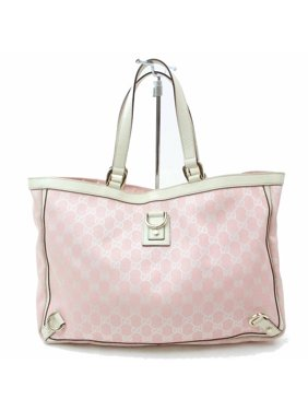 596794bc8c3b Product Image Abbey Monogram D-ring 868471 Pink Canvas Tote. Gucci