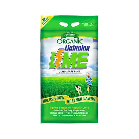 Espoma LL30 Organic Lightning Lime, 30-Lbs. - Quantity 1