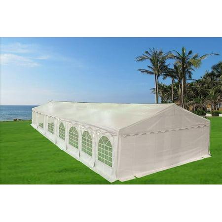 49'x23' PVC Party Tent - Heavy Duty Canopy Gazebo Shelter -