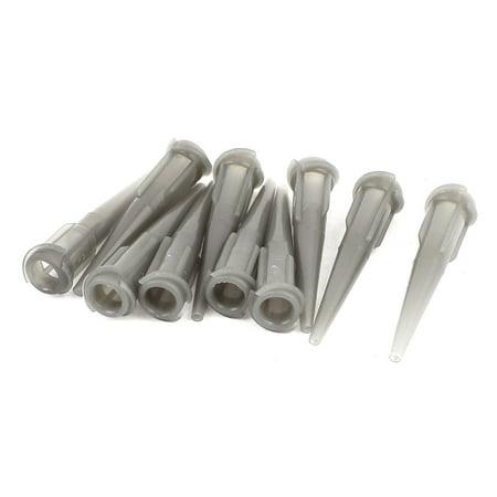 - 10 Pcs Plastic Tapered Pinhead Blunt Glue Liquid Dispenser Needle Tips