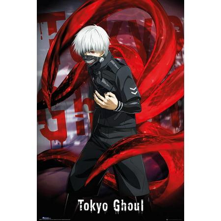 Tokyo Ghoul - Manga / Anime TV Show Poster / Print (Ken Kaneki) (Size: 24