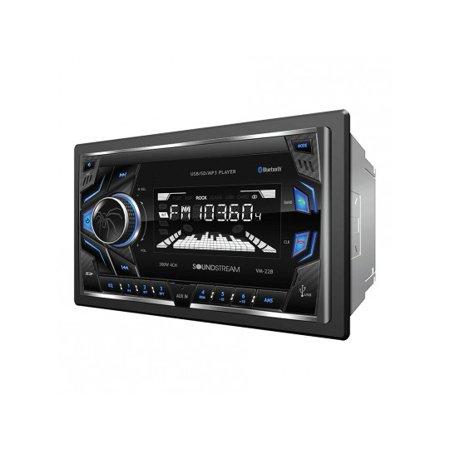 Soundstream Vm 22B Single Din Bluetooth Digital Media Am Fm Receiver W  32Gb Sd Usb Playback