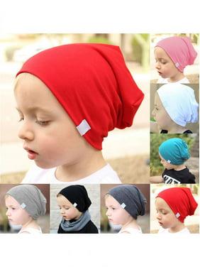 Baby Infant Toddler Kids Boy Girl Warm Cotton Knit Hat Crochet Slouch Beanie  Cap 5e6639bd7ff6