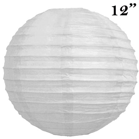 Balsacircle 12 pack 12 paper lanterns lamp shades party supplies this button opens a dialog that displays additional images for this product with the option to zoom in or out aloadofball Gallery