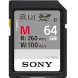 Flash Memory 7500 Series - Sony SF-M Series SF-M64 Flash memory card 64GB UHS Class 3/Class10 SDXC UHS-II