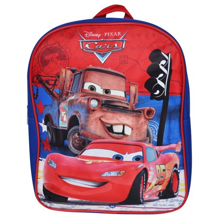 Disney Cars Lightning McQueen Mater Boys Mini Backpack 12