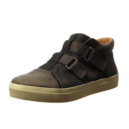Von Dutch Men's Bruce Fashion Sneaker (9 D(M) US, Grigio Leather) (Bruce Lee Shoes)