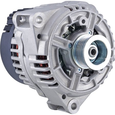 - DB Electrical New 400-24278 Alternator for 5L 08 Clock 150 Amp Internal Fan Type Solid Pulley Type Internal Regulator CW Rotation 12V Mercedes-Benz S500 2000 2001 AL0768X, 123520017, 13855