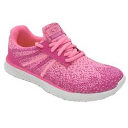 Athletic Works Girl's Lightweight Knit Athletic Shoe (Girls Size 3 Nike Shoes)