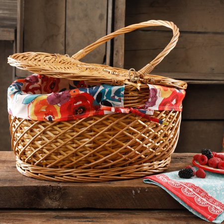 THE PIONEER WOMAN FLEA MARKET PICNIC BASKET - Picnic Baskets Wholesale
