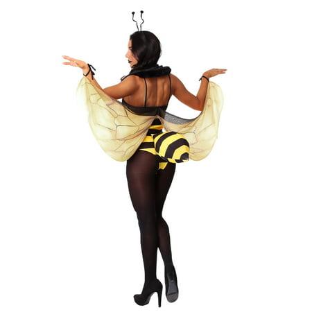 Women's Honey Bee Bodysuit Costume - image 2 de 3