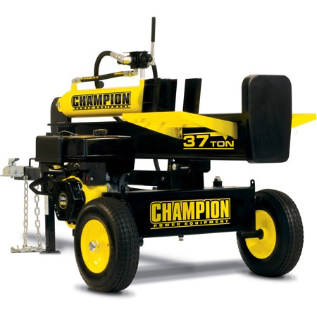Champion 100250 37-Ton Horizontal/Vertical Full Beam Gas Log Splitter with Auto Return ()