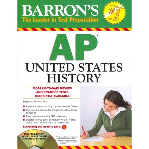 Barron's AP United States History [With CDROM]