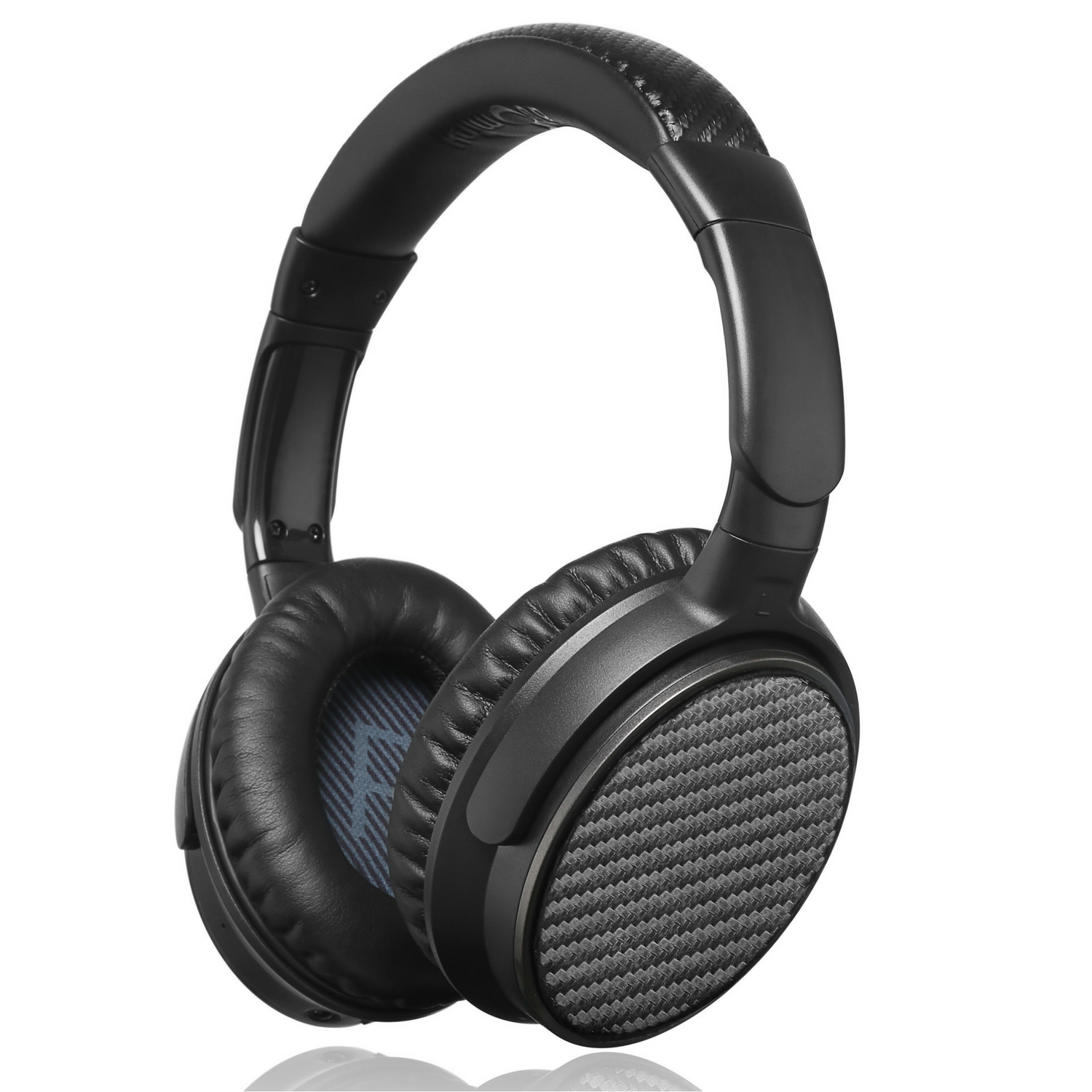 iDeaUSA Wireless Noise Canceling Bluetooth Headphones Over-Ear with Mic V201