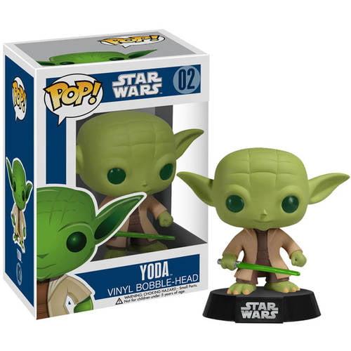 FUNKO Pop! Star Wars Yoda Vinyl Bobble Head Figure