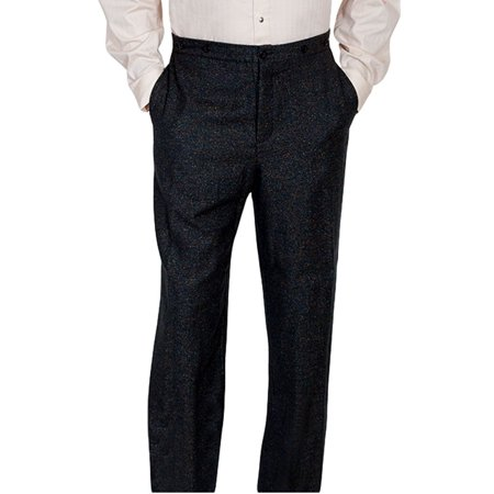 Scully Western Pants Mens Old West Wool Tailored Button 526202