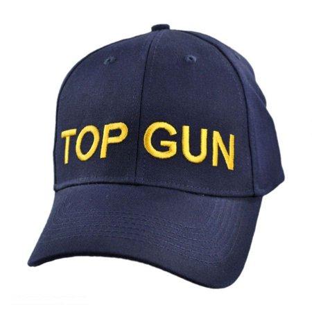 Top Gun Adjustable Baseball Cap - ADJUSTABLE - Navy Blue - Walmart.com 301feead5