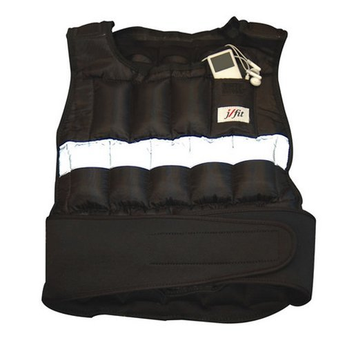 JFit Adjustable Weighted Vest 30 lb.