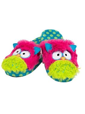 3a3e9e0af9e Product Image Lazy One - Child s Critter Slippers - Owl - Small
