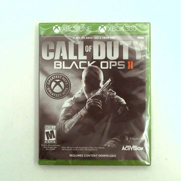 Call Of Duty Black Ops Ii Xbox 360 Pre Owned Activision