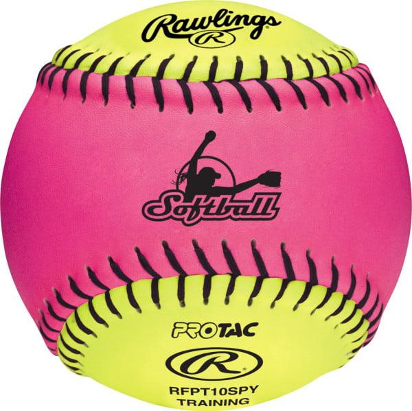 "12pack of Rawlings 10"" Optic FPEX Soft Training Softball"