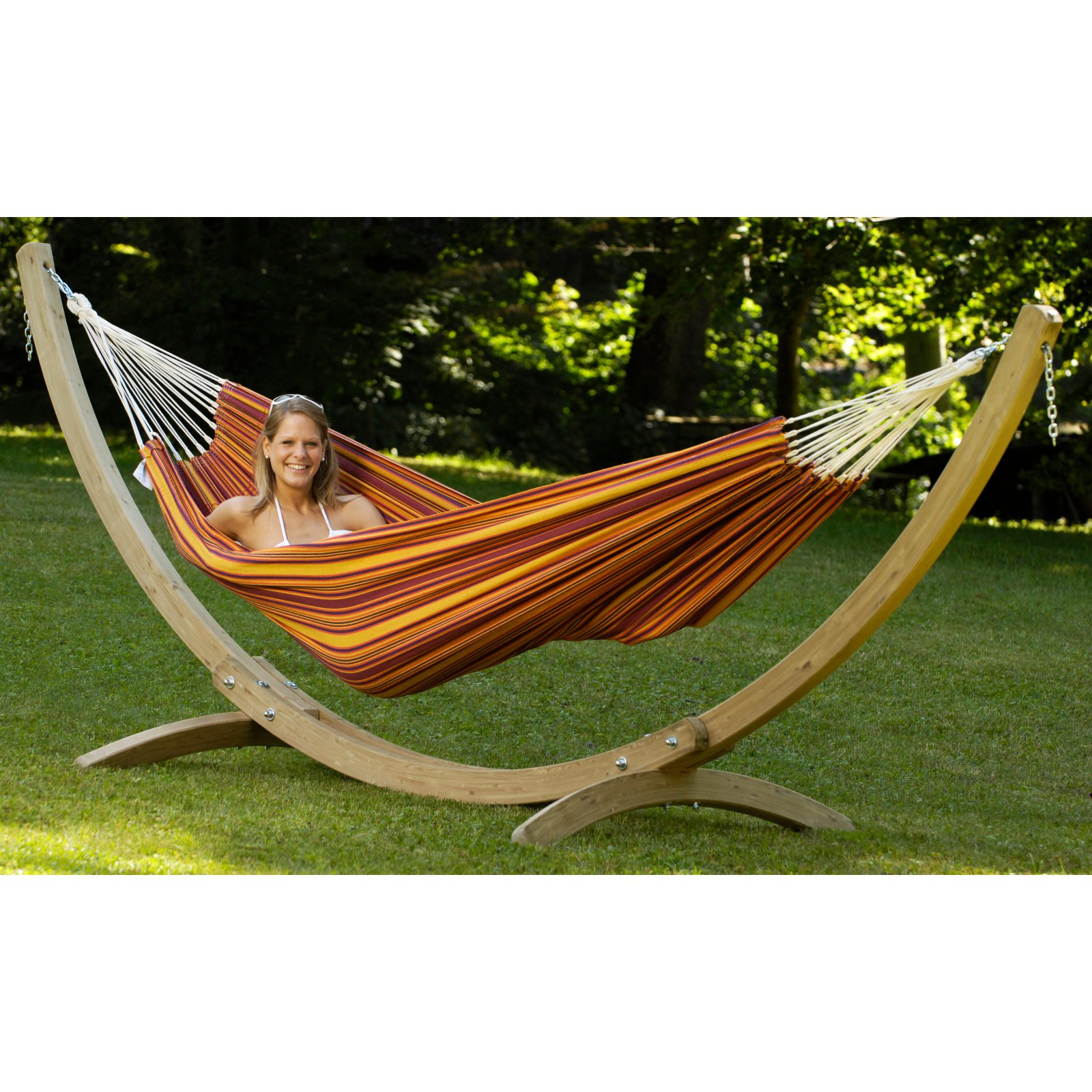 Byer of Maine Olymp Wood Hammock Stand