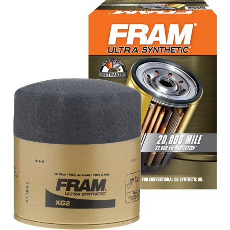 FRAM Ultra Synthetic Oil Filter, XG2
