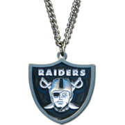 Nfl Raiders 20 Inch Chain Necklace Designer Jewelry by Sweet Pea