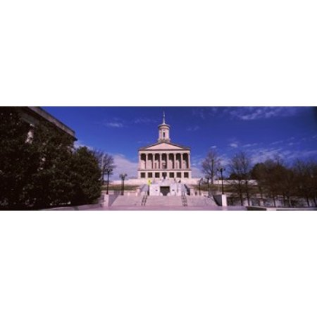 Government building in a city Tennessee State Capitol Nashville Davidson County Tennessee USA Canvas Art - Panoramic Images (36 x 12) (Party City In Nashville Tennessee)
