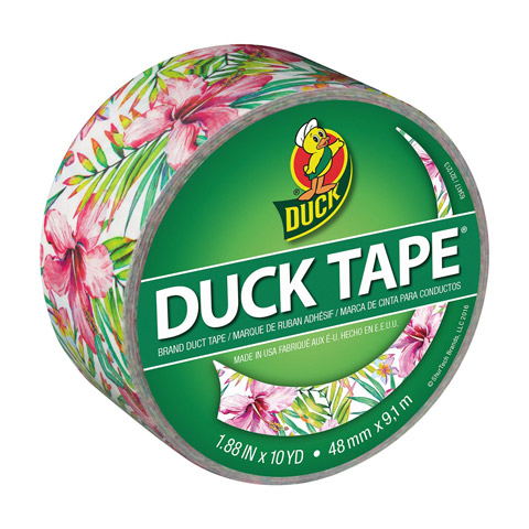 Duck Brand Crafting Tape. Tropics. 1.88 in x 10 yds