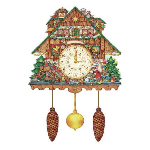 Alexander Taron Korsch Advent Cuckoo Wall Clock by Alexander Taron