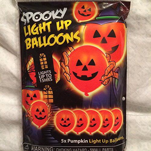 Illoom Balloons Illooms Pumpkin 5pk