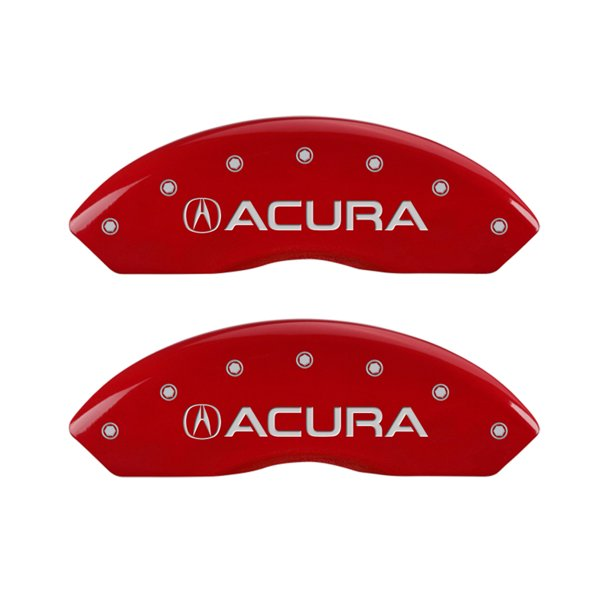 MGP 4 Caliper Covers Engraved Front Acura Engraved Rear