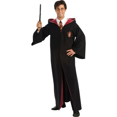 Morris Costumes Adult Harry Potter Deluxe Robe Costume Rubies 889785 One Size, Style RU889785 - Harry Potter Robes Adult