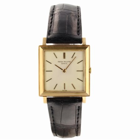 Pre-Owned Patek Philippe Gondolo 3490 Gold Watch (Certified Authentic & Warranty)