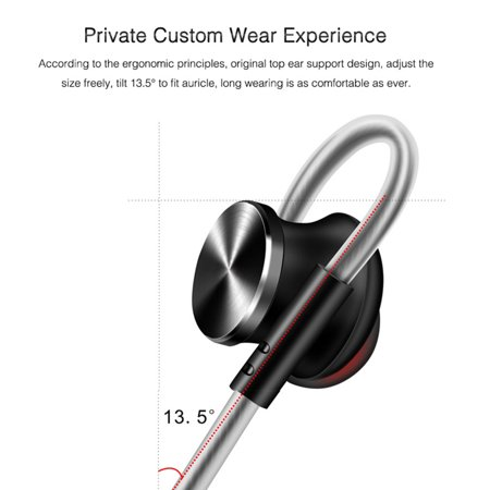3.5mm In-ear Magnetic Adsorption Earphone Bass Stereo Noise Isolating Headphone With Mic for Smartphones Computers - image 4 de 10