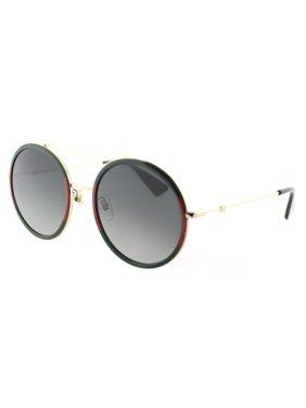 Gucci GG0061S 003 Women's Round Sunglasses
